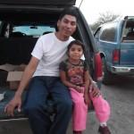 Eleazar and his little buddy, Alondra. :-)