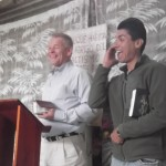 Preaching in Cabellal.